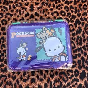 Pochacco Y2K lunchbox/ pencil box